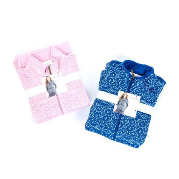 Printed Sweater Jersey Fleece PJ Set